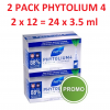2 x Phyto Phytolium 4 Anti-Hair Loss Treatment