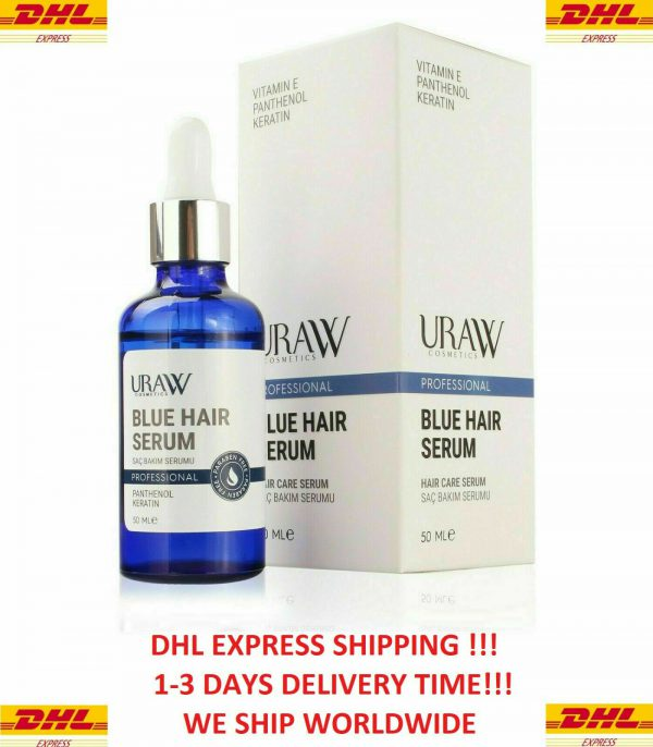 URAW Blue Hair Serum Hair Growth Professional 50 ml (NEW FROM OUR PHARMACY)